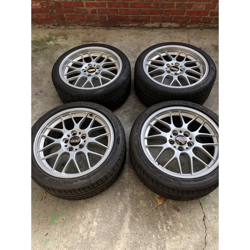 BBS RG-R鍛造18吋鋁圈 含極新輪胎 可分售(跑不到3000公里)W210直上,BENZ,BMW,AUDI,VW