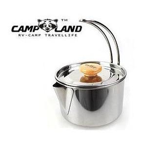 日野戶外【CAMP LAND】RV-ST250 304不鏽鋼燒水壺鍋 煮水 燒水 水壺  露營 野營 露營水壺 好清洗
