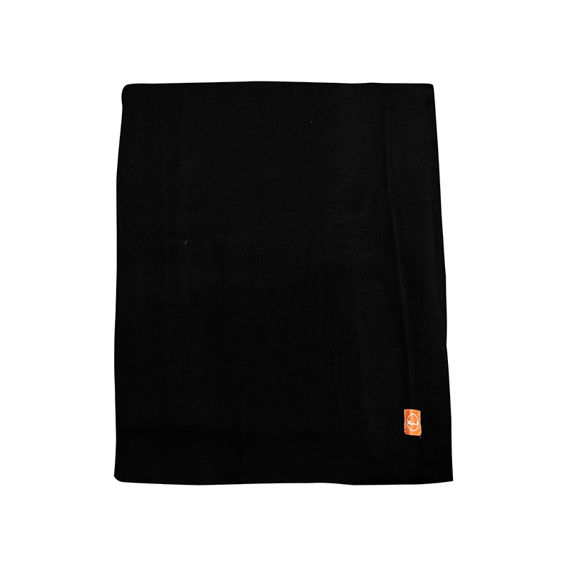 <wildland荒野>中性輕柔PILE保暖圍巾-黑