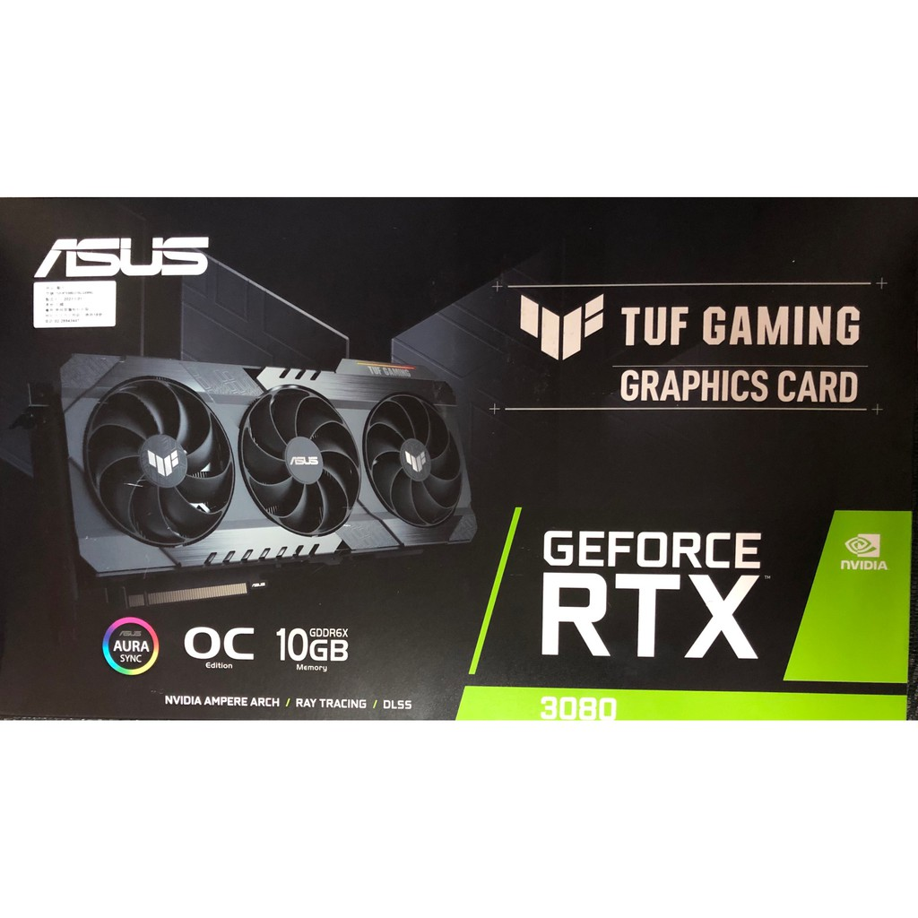 ASUS TUF-RTX3080-O10G-GAMING(近全新二手)