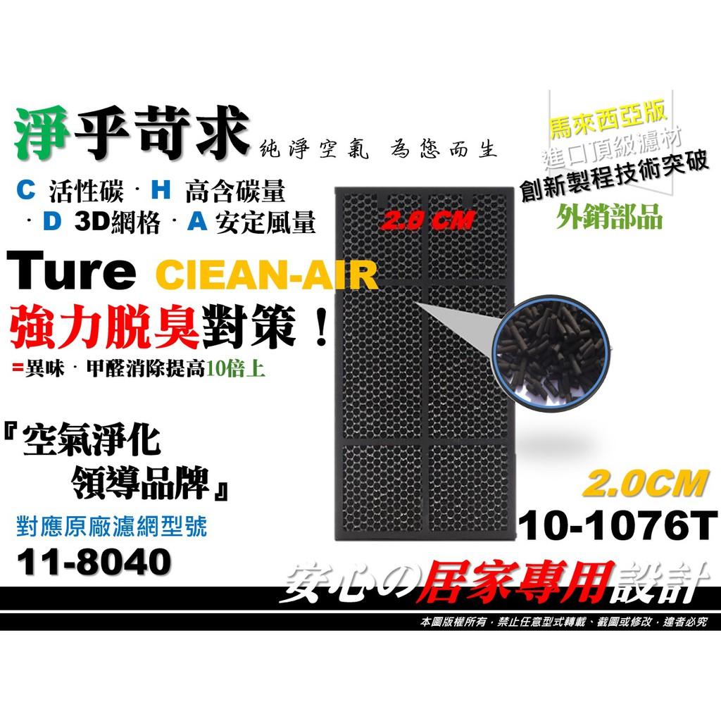 外銷品【HEPA】Amway 安麗 第二代 2代 101076-T 11-8040 20mm 活性碳 空氣清淨機 濾網