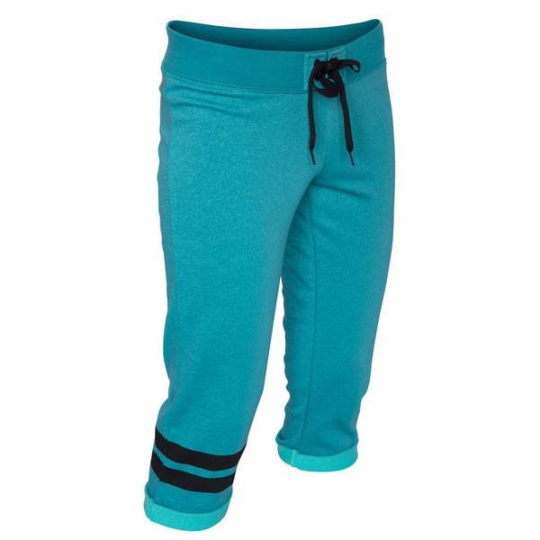 Hurley 女生動能時尚系列Fleece七分褲 (Beach Active Dri-FIT) - 水藍