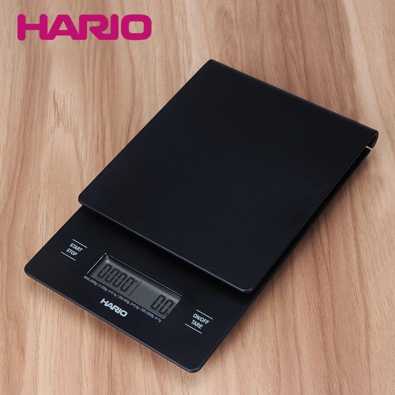 【咖啡愛好者】日本哈里歐Hario手沖咖啡電子稱多功能V60計時電子秤VST2000B