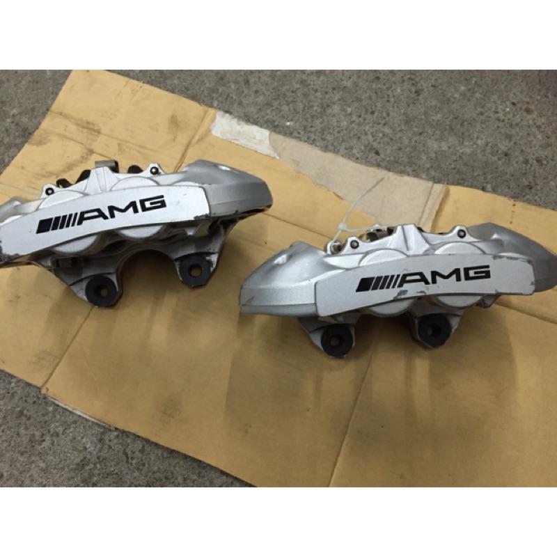 賓士BENZ w204 C63 原廠AMG卡鉗 brembo4活塞