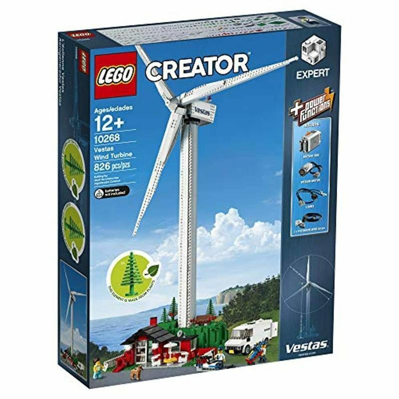 (全新未拆) LEGO 樂高 10268 Vestas Wind Turbine 風力 發電場景組 lego