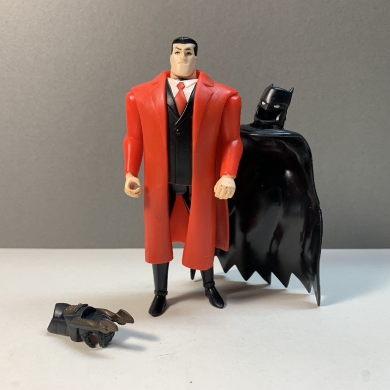 1998 kenner 紅衣 變裝版蝙蝠俠 batman 蝙蝠俠 dc