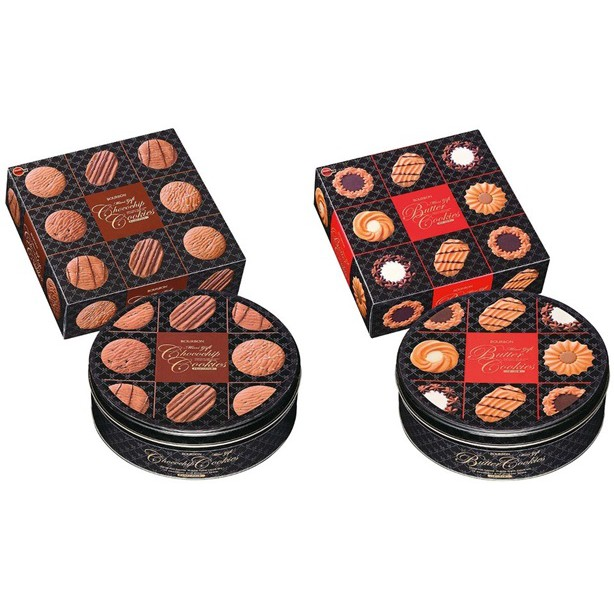 北日本 Bourbon 綜合餅乾禮盒 年節禮盒 奶油餅乾禮盒 曲奇餅禮盒《小間生活道具》