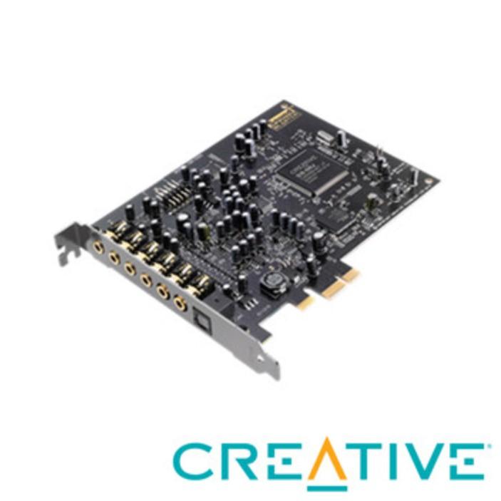 ❤️含稅附發票 CREATIVE Sound Blaster Audigy RX PCIE音效卡