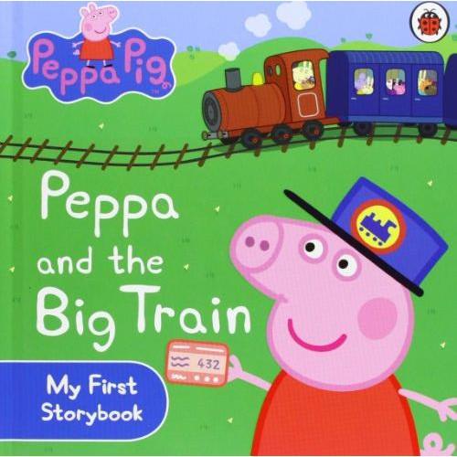 【麥克書店】PEPPA AND BIG TRAIN 佩佩豬搭火車|粉紅豬小妹故事集交通工具