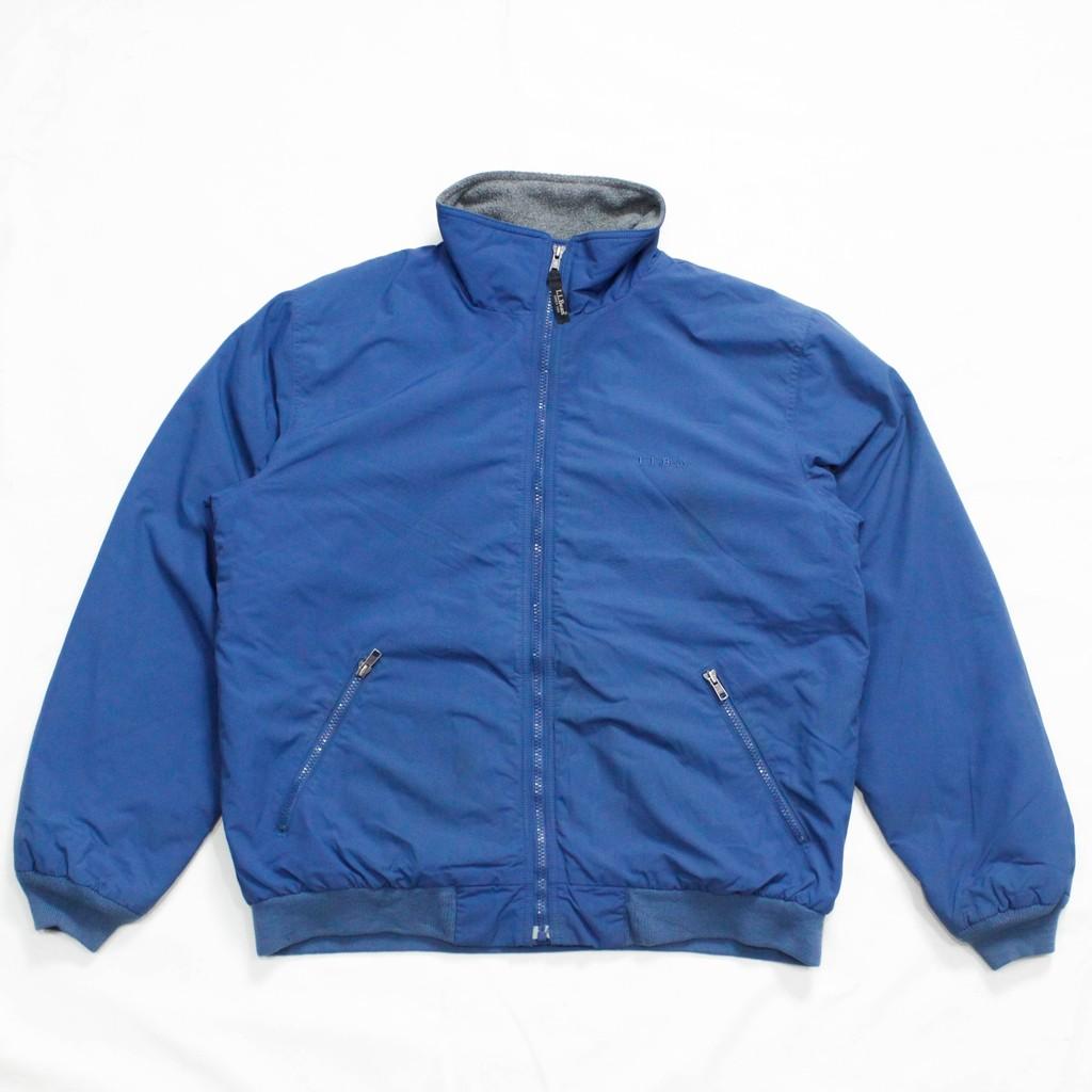 〔古著〕L.L.Bean Warm-Up Jacket / 藍