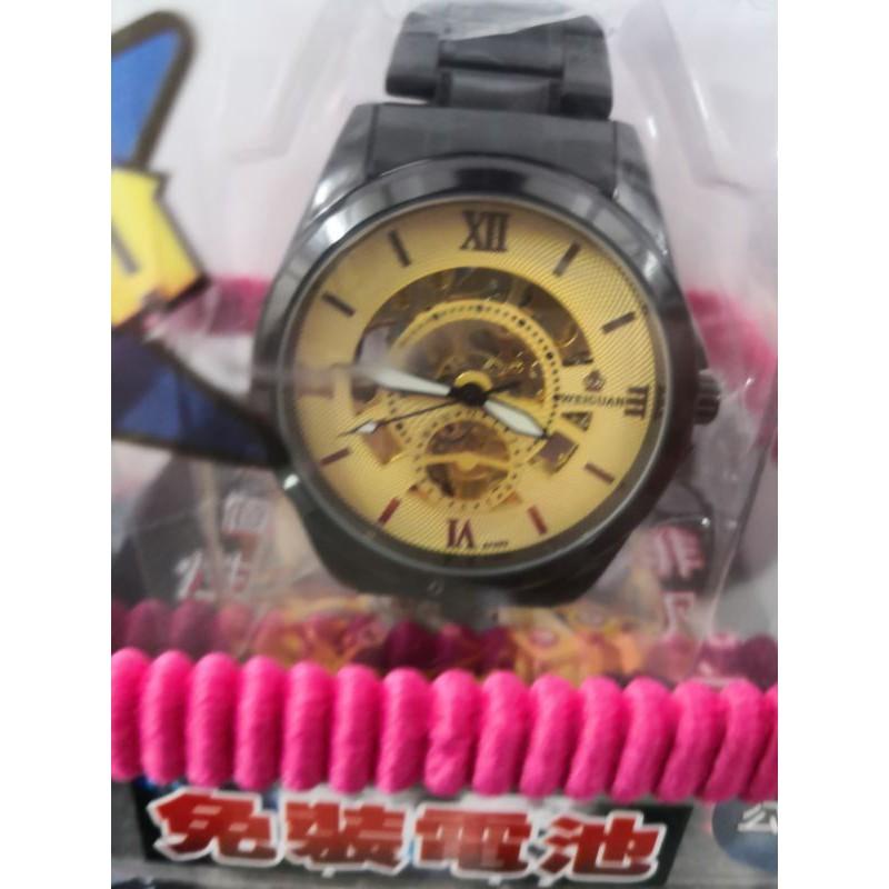 WEIGUAN 威冠 鏤空機械手錶