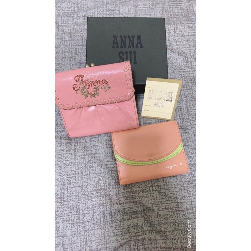 買一送一 ~ Anna Sui 短夾&小b 卡片包
