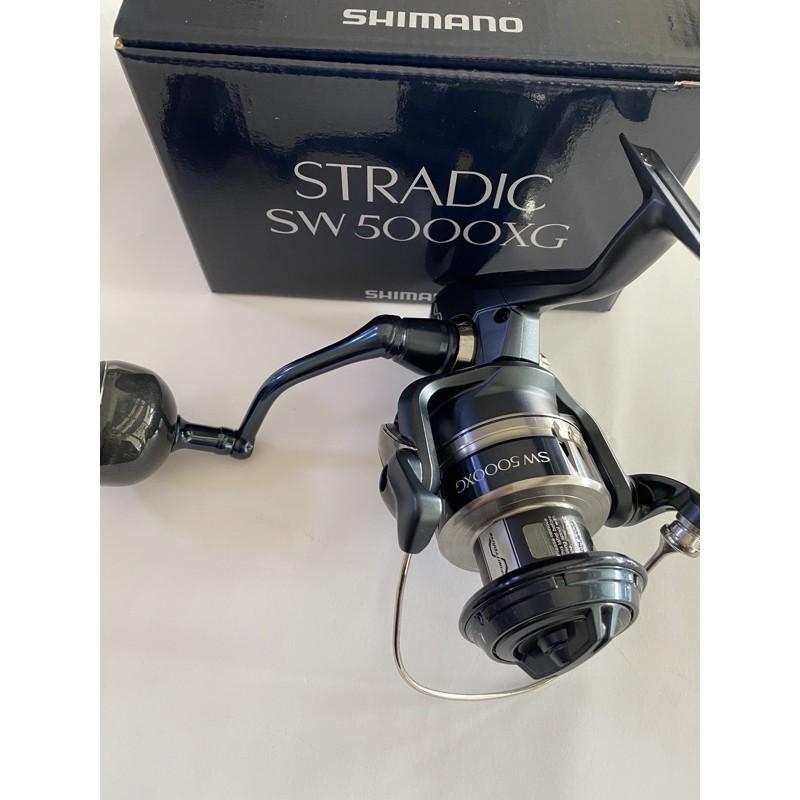 SHIMANO 20年 STRADIC SW 5000XG/6000XG 岸拋 池釣 軟絲 白帶 鐵板 捲線器 岸拋鐵板