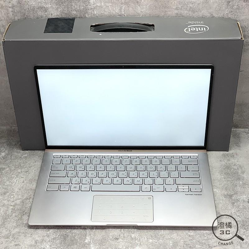 ASUS Zenbook UX433F 14吋 I7-8565U/16G/512GB/MX150 銀《二手》B00873