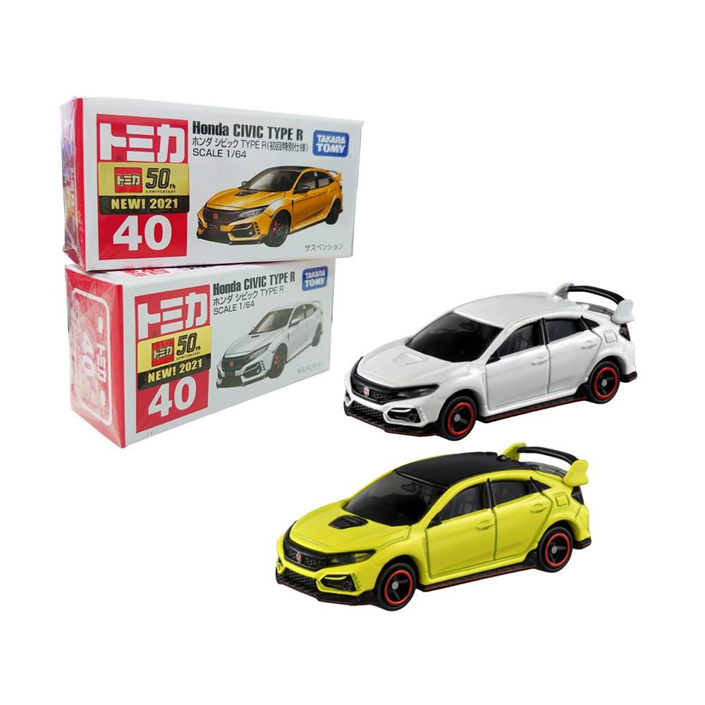 【TOMICA】多美小汽車 本田 Honda Civic TYPE R NO.40 初回+一般版