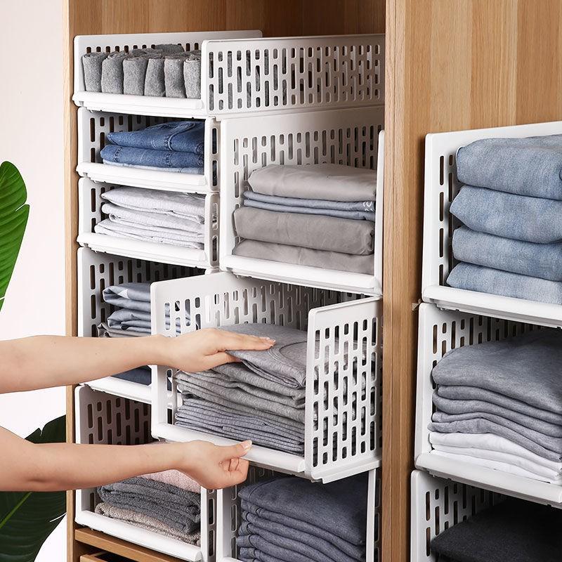 現貨塑料收納箱抽屜式儲物柜子大號衣柜整理箱分層衣廚內衣收盒神器置物盒收納置物盒衣櫃抽屜收納盒收納櫃收納箱收納神器