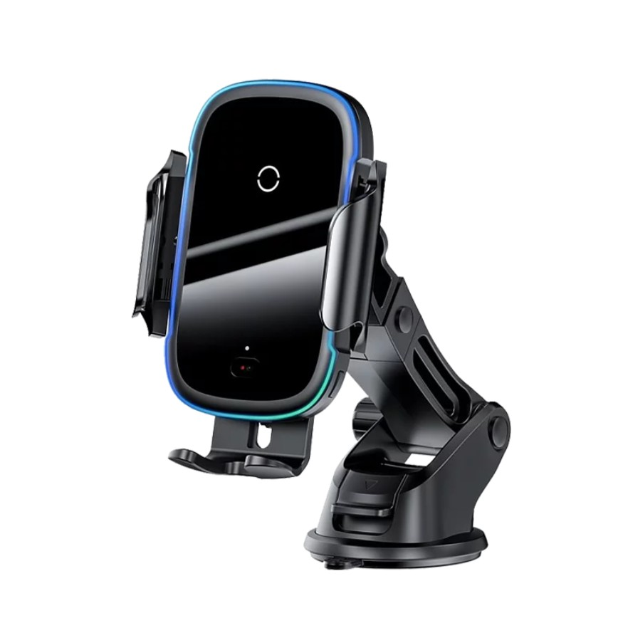 【Baseus倍思】Baseus 15W 無線充電支架 光線電動無線充 車用 無線充電支架 車用充電 自動開合手機架