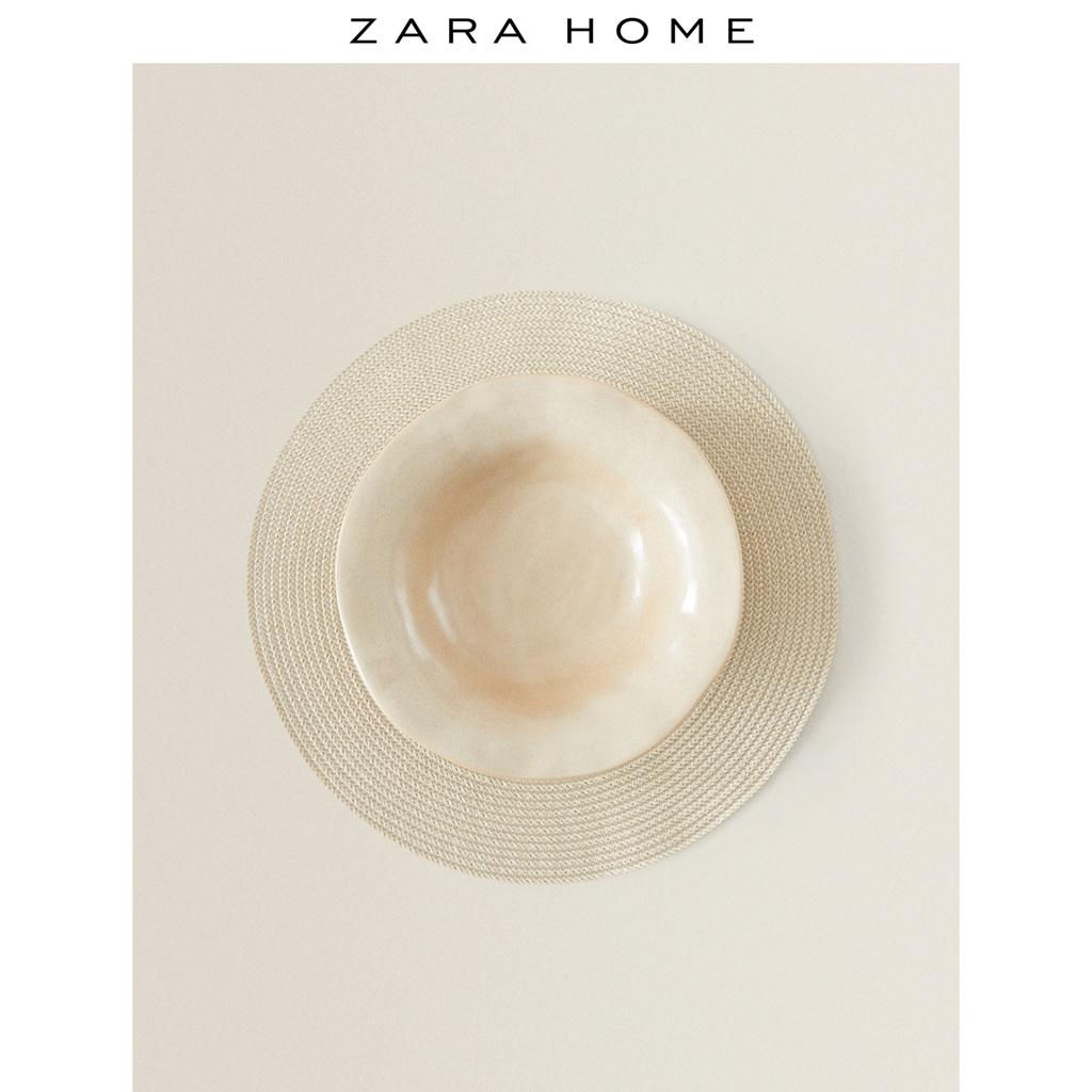 ~熱銷~新款Zara Home 歐式簡約風家用圓形實用鍋碗墊餐墊2件套 44255023083