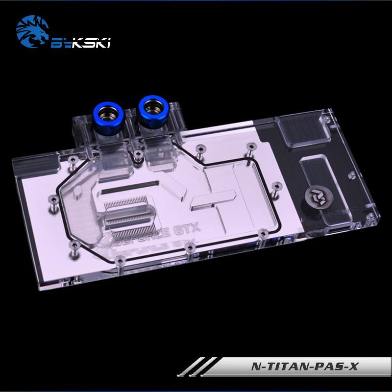 Bykski N-TITAN-PAS-X GTX1080 1080ti TITANX全覆蓋水冷頭