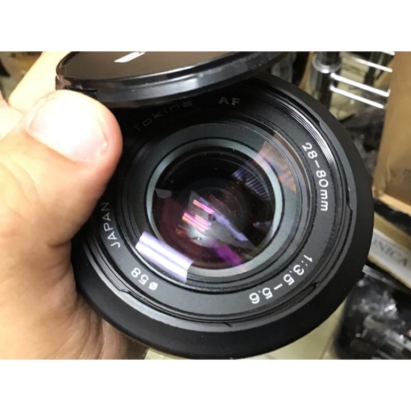 鏡頭 tokina for Nikon af ais 28 80mm 美品 配件都有。全幅鏡 廣角
