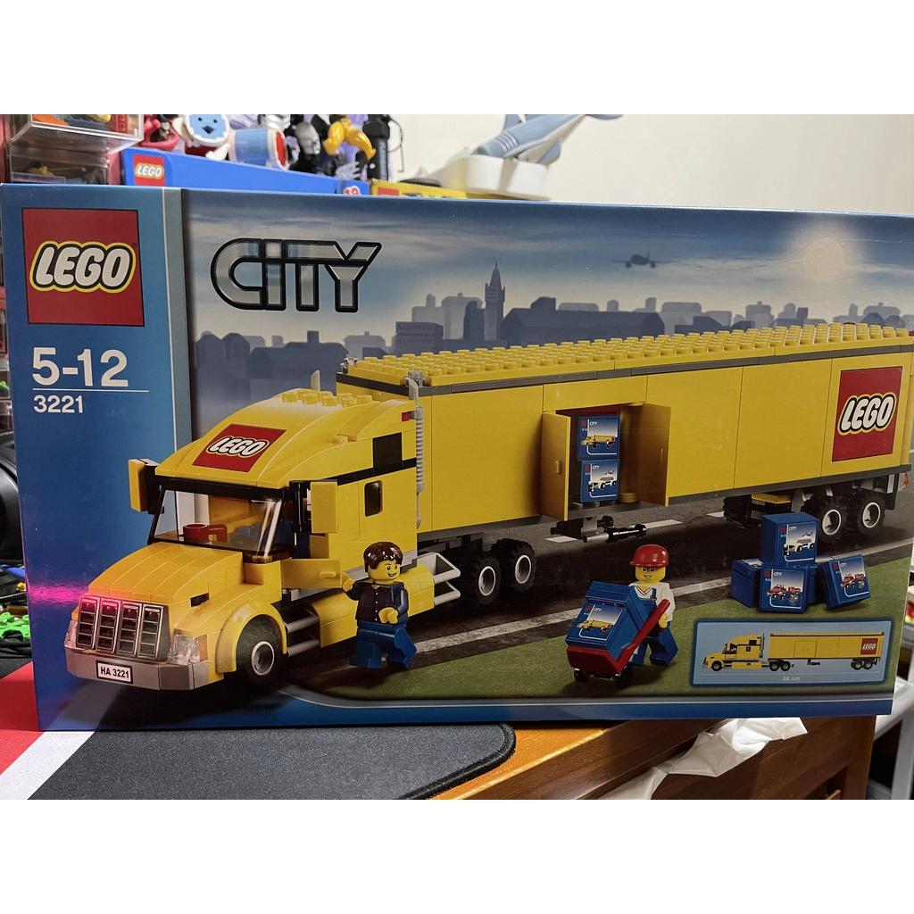 全新樂高正品 LEGO 3221 樂高卡車  樂高貨車 台灣代理貨