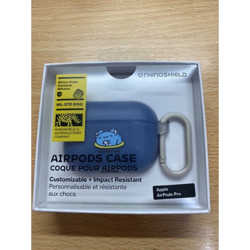 犀牛盾 AirPods Pro保護殼 (咖波聯名)
