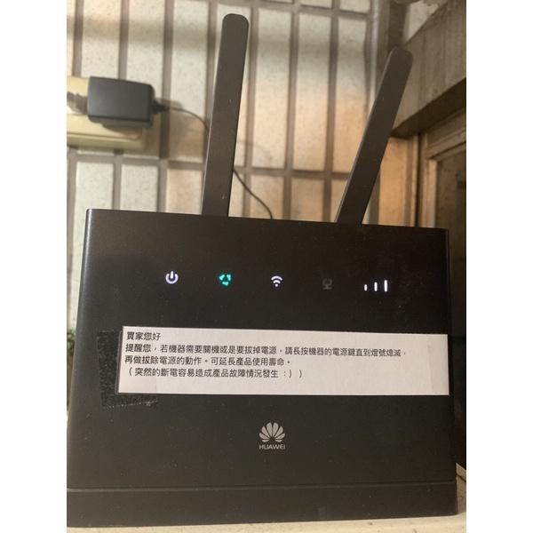 二手 華為 B315s-22 台灣全頻 4G路由器 WIFI分享器