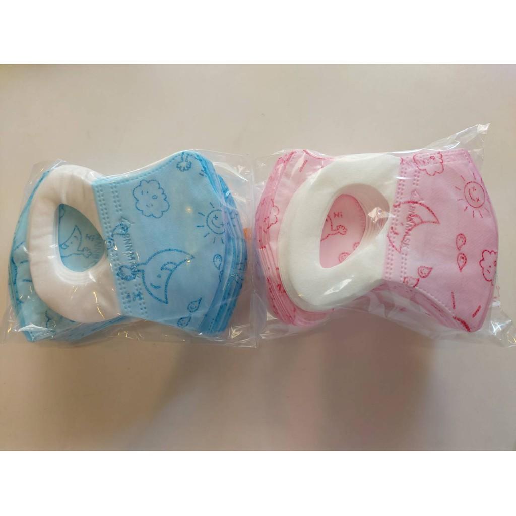 【現貨】 BNN 鼻恩恩 兒童 幼幼 寶寶 3D 立體 醫用 醫療口罩 耳掛 MSS1-3歲未滅菌 50入盒裝⚠️小禮物