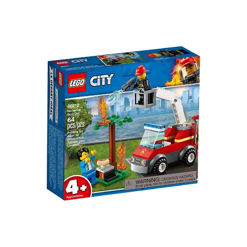 樂高 LEGO 60212 CITY城市系列 烤肉架火災