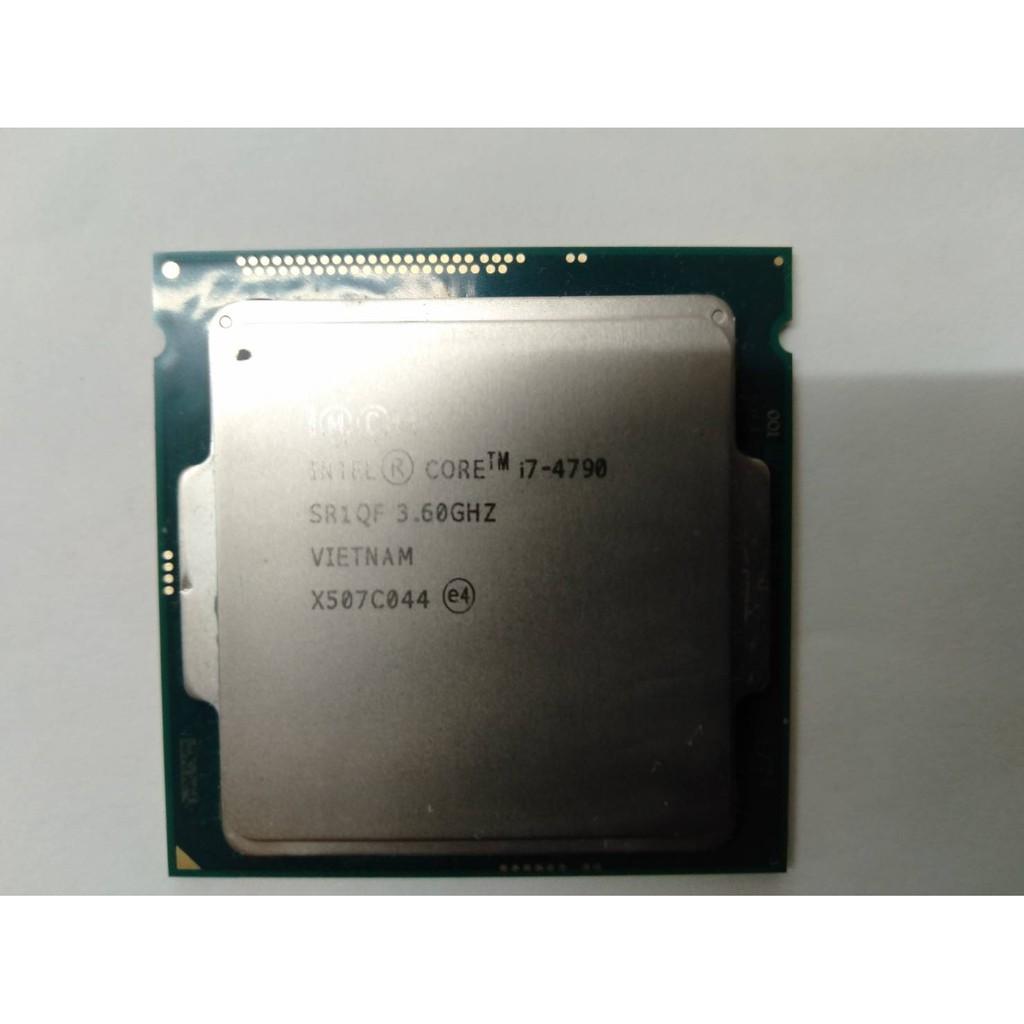 二手 Intel I7-4790 CPU 1150腳位 - 店保7天