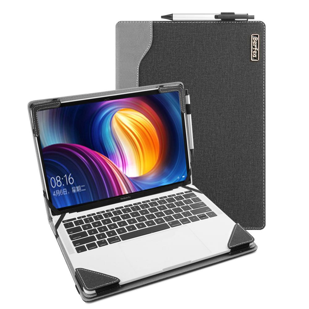 Yoga C940 15 保護殼, 適用於 Lenovo Yoga C940 14 英寸筆記本電腦蓋支架硬殼 Pu 皮套