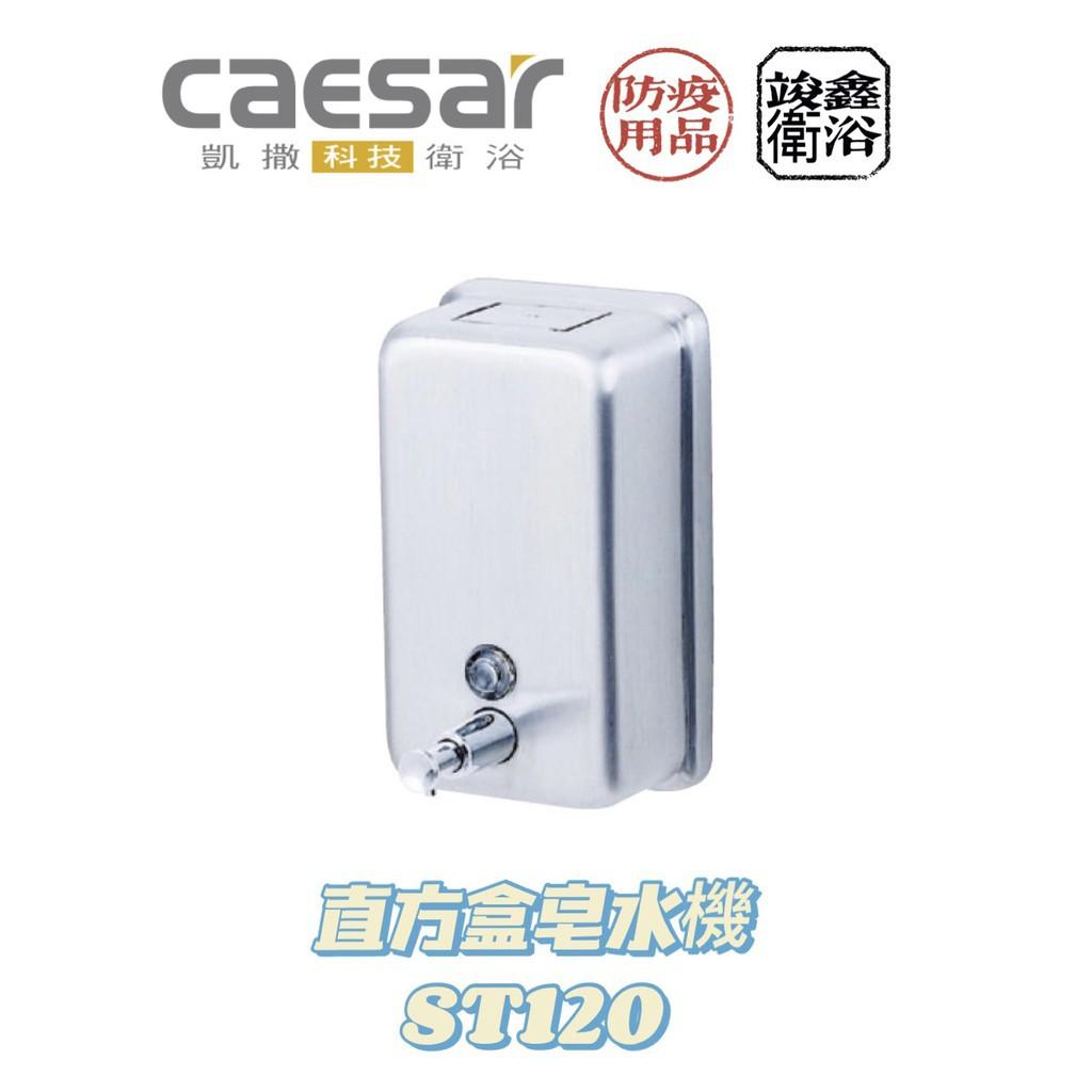 (現貨不用等✨)Caesar 凱撒衛浴 直方盒皂水機🧼 ST120 防疫期間明星商品🦠 不銹鋼配件系列 復古風格 無印良