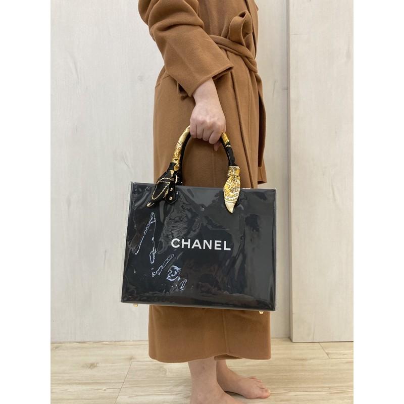 Chanel 名牌紙袋改造包