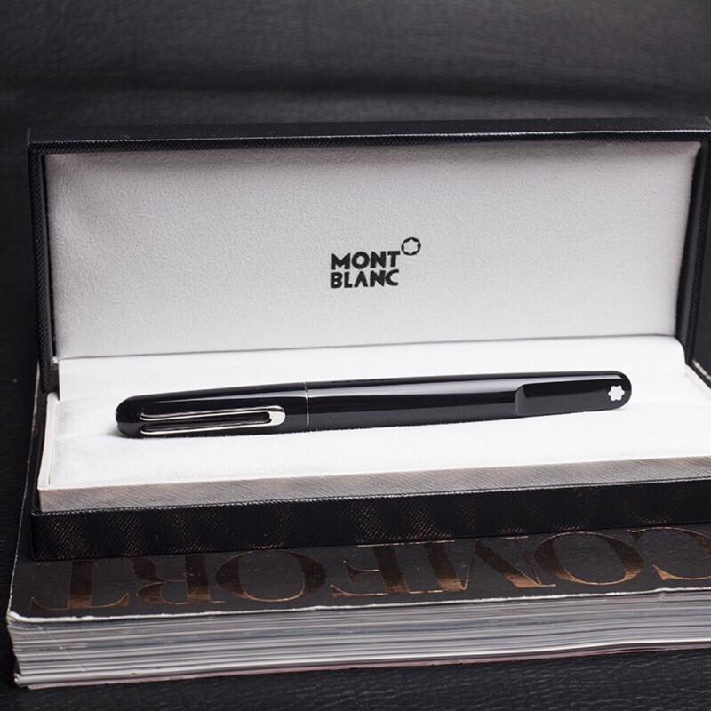 MONTBLANC簽字筆萬寶龍鋼筆商務圓珠筆MontBlanc簽字筆萬寶龍M系列高級樹脂磁性墨水筆鋼筆 原子筆 禮盒包裝
