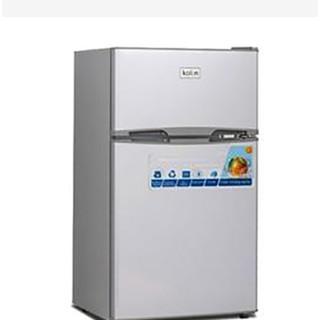 全新一級節能90公升雙門小冰箱 (KR-SE20916-白色/ KR-SE20915-銀色)