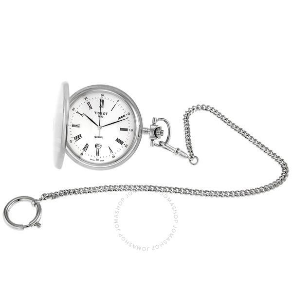 【換日線】TISSOT T83 Savonnettes不銹鋼懷錶