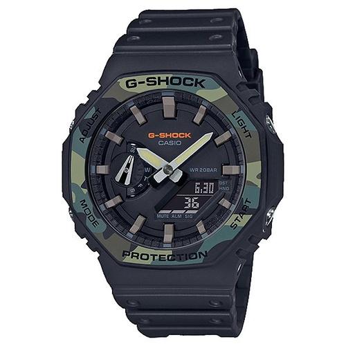 CASIO手錶公司貨G-SHOCK 八角形 農家橡樹GA-2100SU-1A~GA-2100
