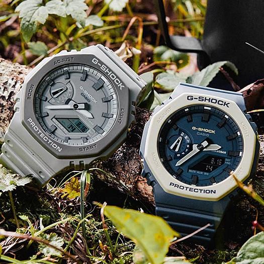Casio G-Shock GA-2100-1A1 卡西歐農家橡樹 全黑 全灰 GA-2110ET-8A