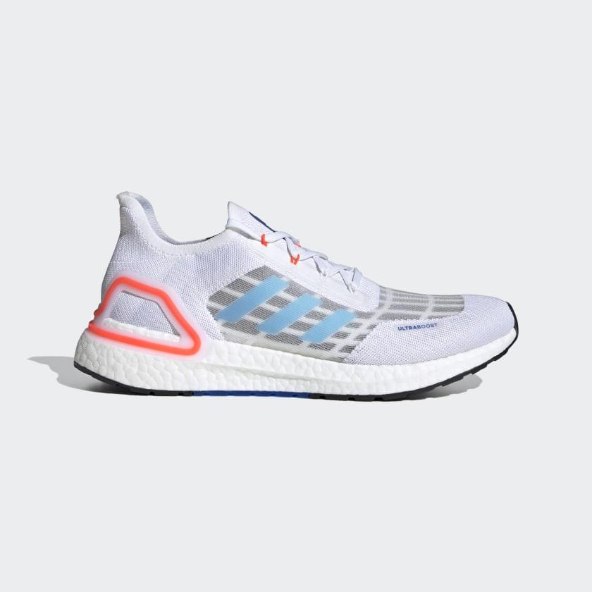 2020 5月 ADIDAS ULTRABOOST SUMMER.RDY EG0751 白 藍 橘 運動慢跑鞋