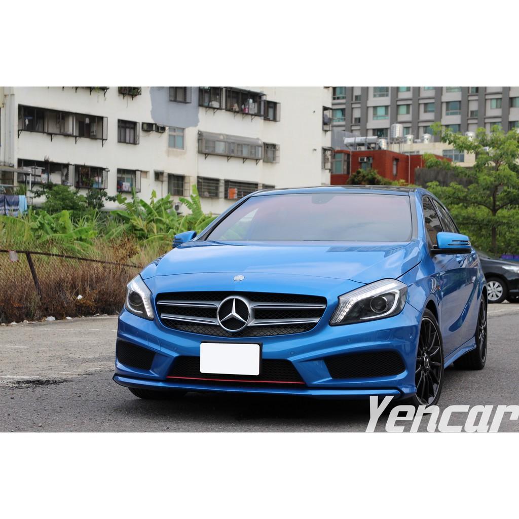 【阿彥嚴選認證車-Yencar】'2014 A180 AMG 45Look 、中古車、二手車、全額貸、車換車