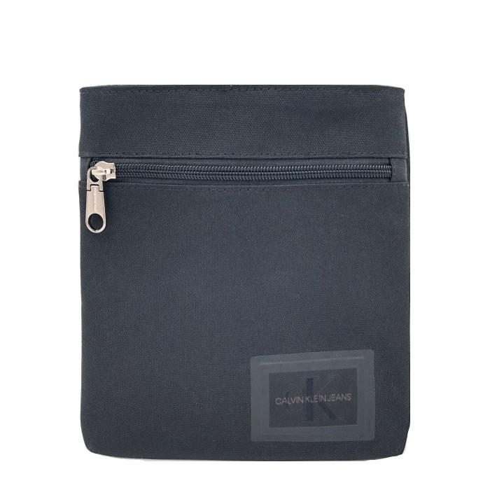 Calvin Klein 小斜背包 小方包 尼龍織布 小斜背包 側背包 斜背包 小方包 C11252 黑色CK(現貨)