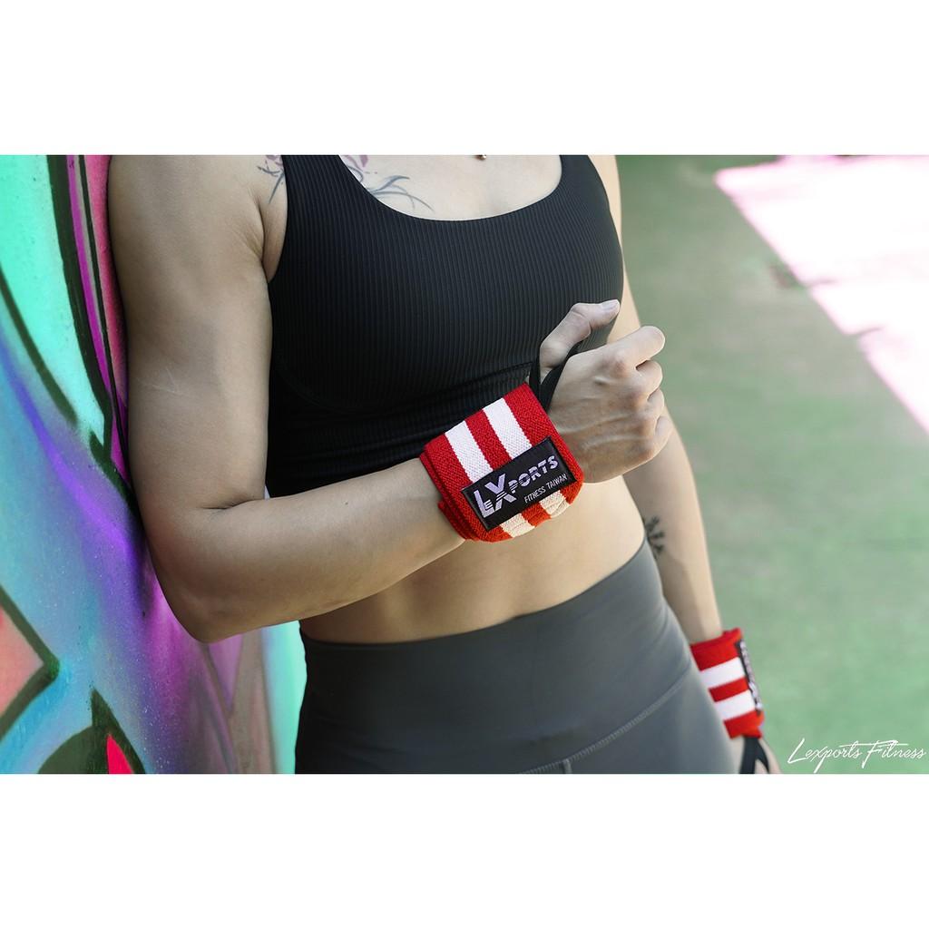 重量訓練護腕 ( 重磅彈力-加厚版) / 健身護腕 / 重訓護腕 L45cm / LEXPORTS 勵動風潮