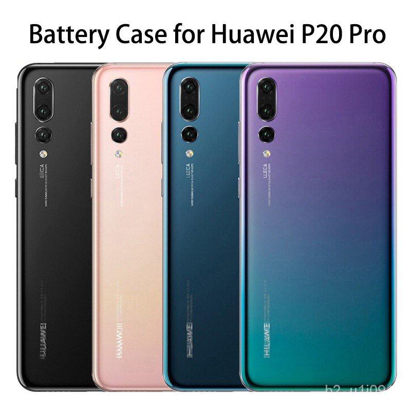 5zlQ 原裝華為 P20 Pro 玻璃外殼蓋更換後門電池盒 P20 Pro 外殼蓋, 帶相機鏡頭