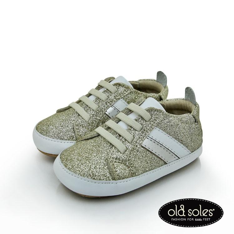 OLD SOLES 手工精緻學步鞋 - 金