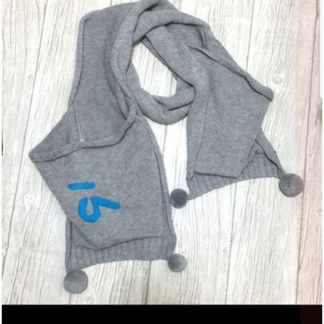 a la sha 可愛長圍巾