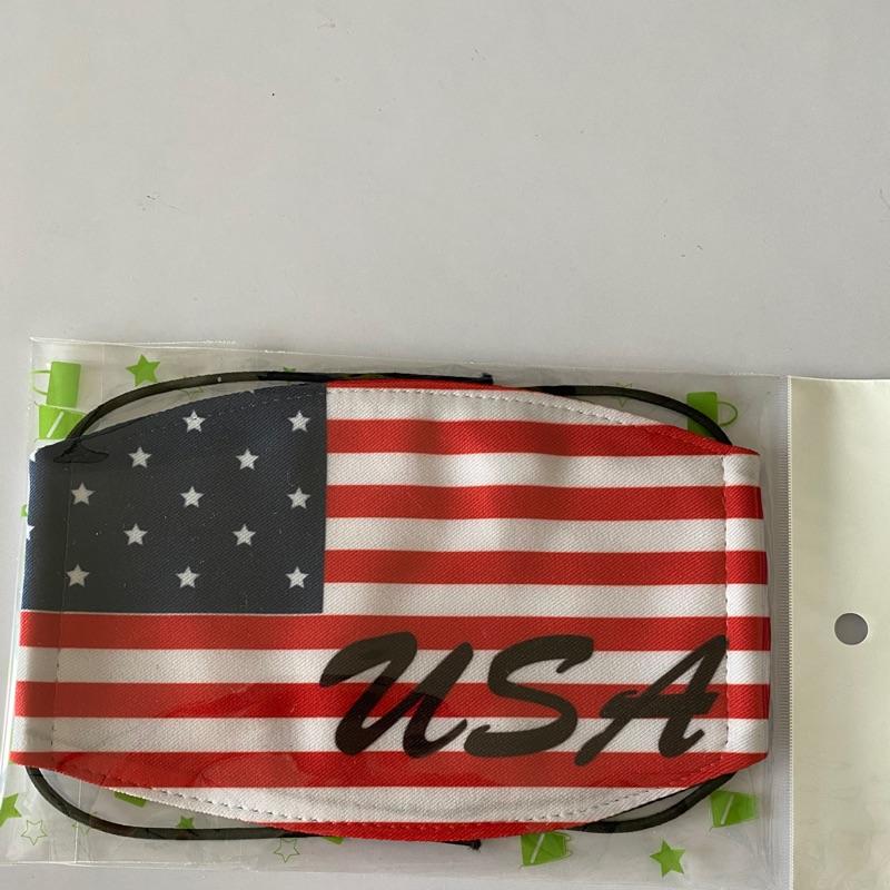 MI MI LEO台灣製國旗口罩系列~美國國旗款