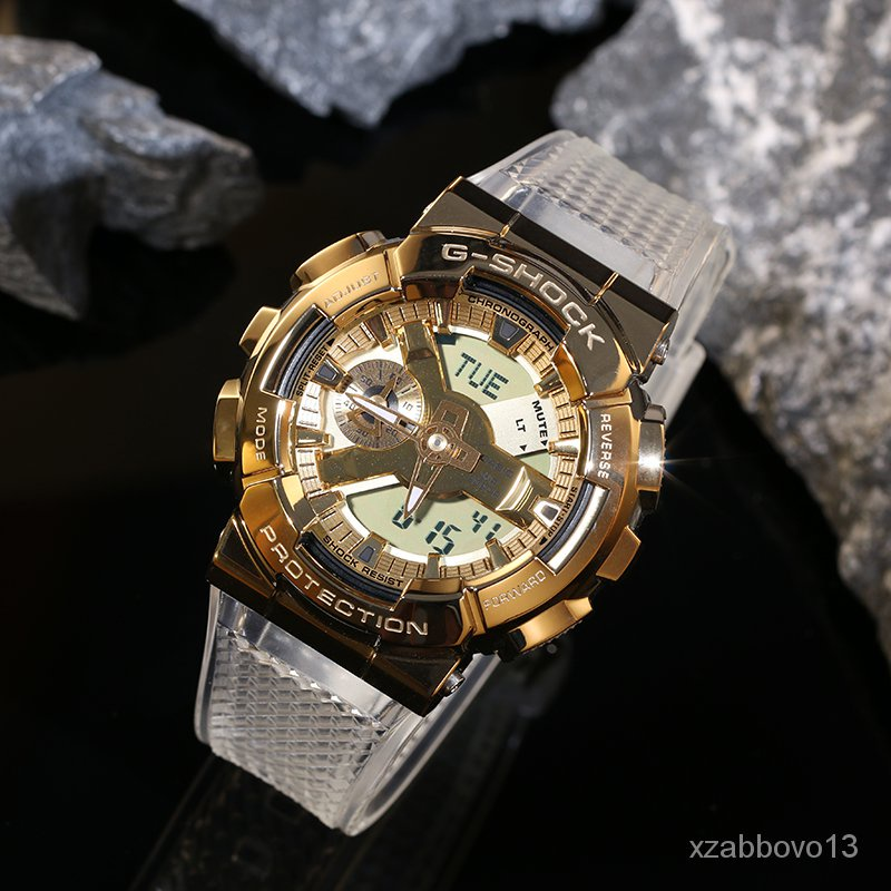 新款卡西歐制勝金手錶G-SHOCK GM-110SG-9A 5600SG  GM-6900SG-9 運動 rXbs