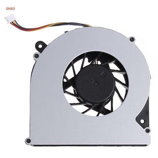 Shas Org 冷卻風扇筆記本電腦 Cpu 散熱器散熱器 5v 0.5a 筆記本電腦更換 4 針,  適用於 Hp Pr
