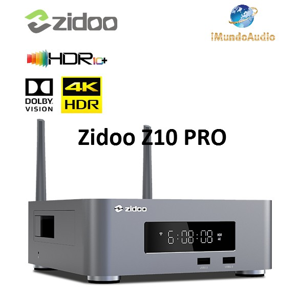 ZIDOO 芝杜 Z10 PRO 4K HDR 藍光網路硬碟播放機 全新品