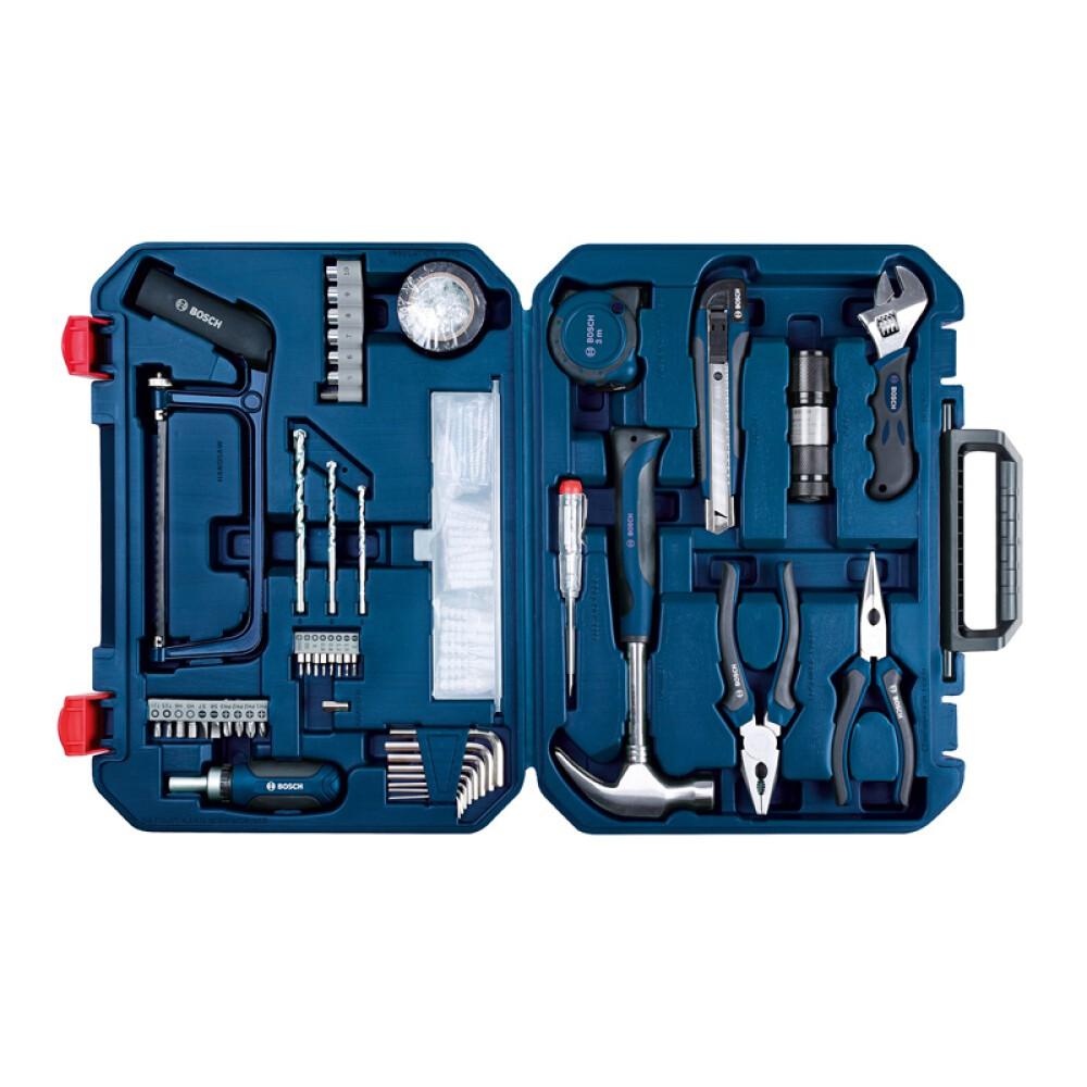 BOSCH博世五金工具組套  工具箱 12件 66件108件工具組套 鉗子  扳手工具套裝